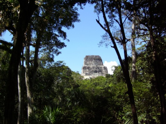 Les sites mayas de la région du Peten