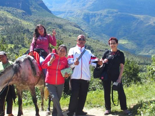 Vers les cascades de Gocta (Chachapoyas)