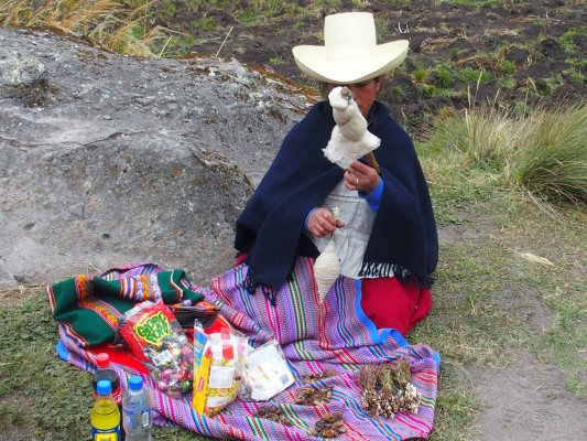 Paysanne de Cajamarca