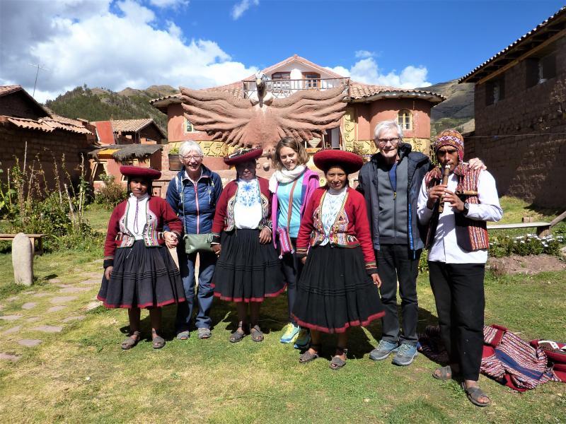 Dans la communauté de Humasbamba
